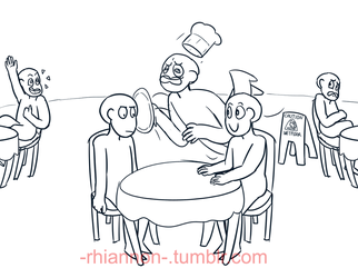 Draw the squad - What a nice dat- oH NO by Rhi-Bread