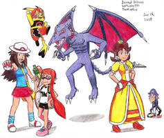 Super Smash Bros. Ultimate - Hype Drawing! by LeafGreen1924