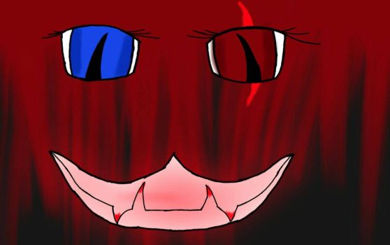 cheshire Ghoul, TEETH FAIL!! AHH XD by FrostBiteRezzy