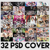 +PSD COVER PACK! (KAPANDI!) by SudeSmiler