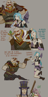 [LoL strip] Lane Taunts by zuqling