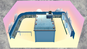 [DL] MMD School Rooftop Stage by Maddoktor2