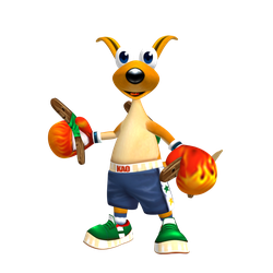 Kao the Kangaroo (Round 2) Render by Detexki99