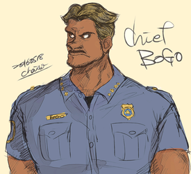 Chief Bogo by chacckco