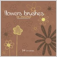 Flowers brushes by stardixa-resources