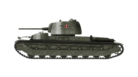 Heavy Tank - 25tp wz. 41a/a by Escodrion