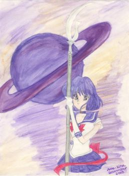 Sailor Saturn by Lilain