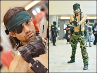 Naked Snake (Cosplay GO!) by riezforester