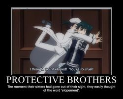 Protective Brothers by wreathdeathscyte