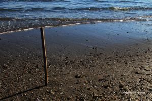 The stick which hold the wave by NanaSansnom