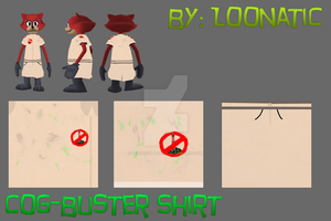 {TTOFF} Cog-Busters Shirt by toontownloony