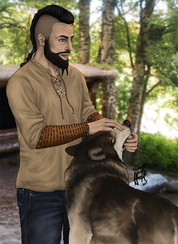 Ragnar Landvik by KittycatNita