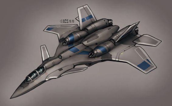 Contact - Air to Air Fighter by Shimmering-Sword