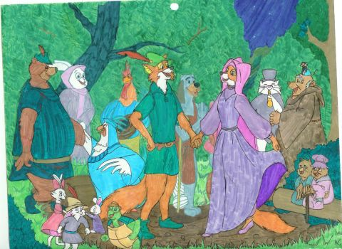Celebration in Sherwood Forest by NightangelWorks