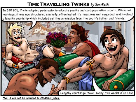 Time Traveling Twinks 04 by REBELComx