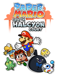 Paper Mario: Case on Halcyon Court - A New Start by The-PaperNES-Guy