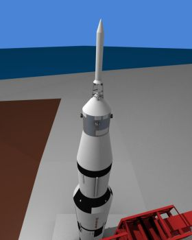 Saturn V updated by Omicron-Lyrae