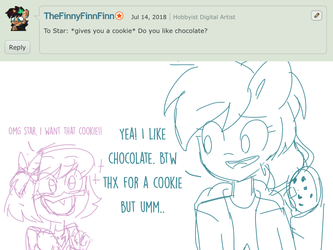 Ask Star and Her Friends #10 Chocolate by StarStriker501