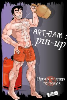 Art jam pin up e-01 by Zeentury