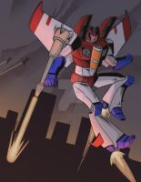 Starscream by cocoaCatastrophy