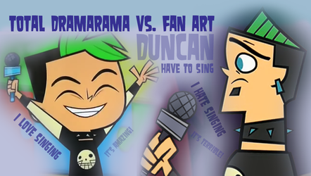 Duncan and his love for singing by Angelaaaa777