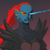 Undyne the Undying by andrewportella