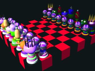 Kasparov's Move Render by DCJaxDesign