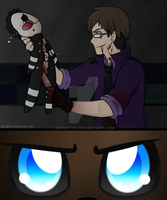 FNaF: That creepy..puppet thing.. by Beckitty
