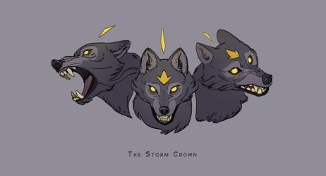 The Storm Crown by zazB