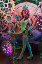 Poison Ivy in Mechanic World by Rei-Doll