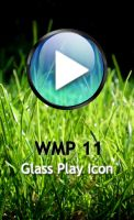 WMP 11 Glass Play Icon by teh-bug