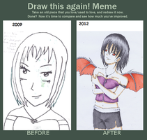 Draw It Again Meme by CloudRider99