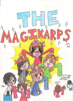 THE MAGIKARPS!!! by I-is-Ninja-Pikachu