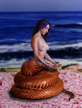Naga Meditation by TheSciFiArtisan