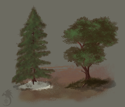 Trees Concept by Sun-Dragoness