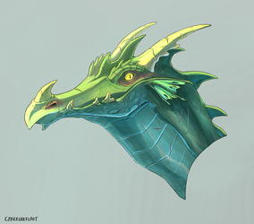 Dragon by DecepticonCyberWolf