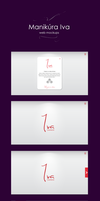 Web mockups for nails studio Iva by jozef89