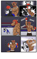 Commission wave 3: Thai vs Hunter 3 by GenshiTatsunora