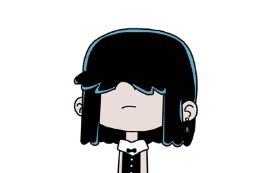 Lucy Loud with outfit from Head Poet's Anxiety by MarcosPower1996