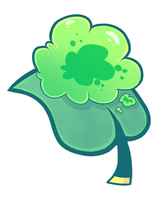 Gummy Goo Leaf (Green) by ChimereonMasterlist