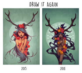 Draw It Again: Wild II by joifish