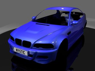 BMW M3 w.i.p 2 by FirstParadox