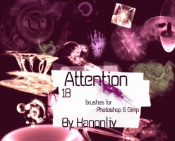 Attention Brushes by kanonliv