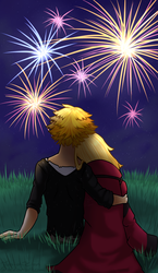 A Wish to Watch the Fireworks with You by Tears-of-Xion