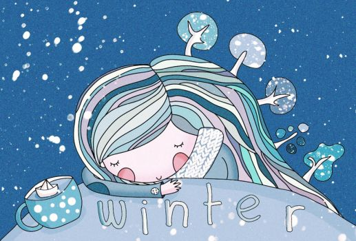 winter by lettipaa