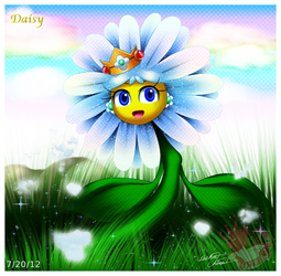 Princess Daisy the Daisy by Bowser2Queen