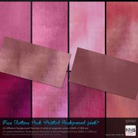 Texture Stock Pack #9 Painted Backgrounds (pink) by Hexe78