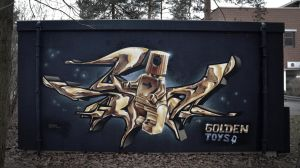 golden toys (spoare153, Ludwigsfelde, 2014) by spoare153