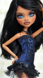 ~Beah~ Monster High Clawdeen Wolf OOAK repaint by RogueLively