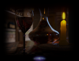 Red Red Wine by kittenwylde